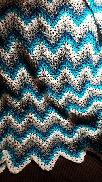 Crochet Blanket Patterns cool crochet blanket patterns easy [easy] v-stitch crochet ripple . giqhskj